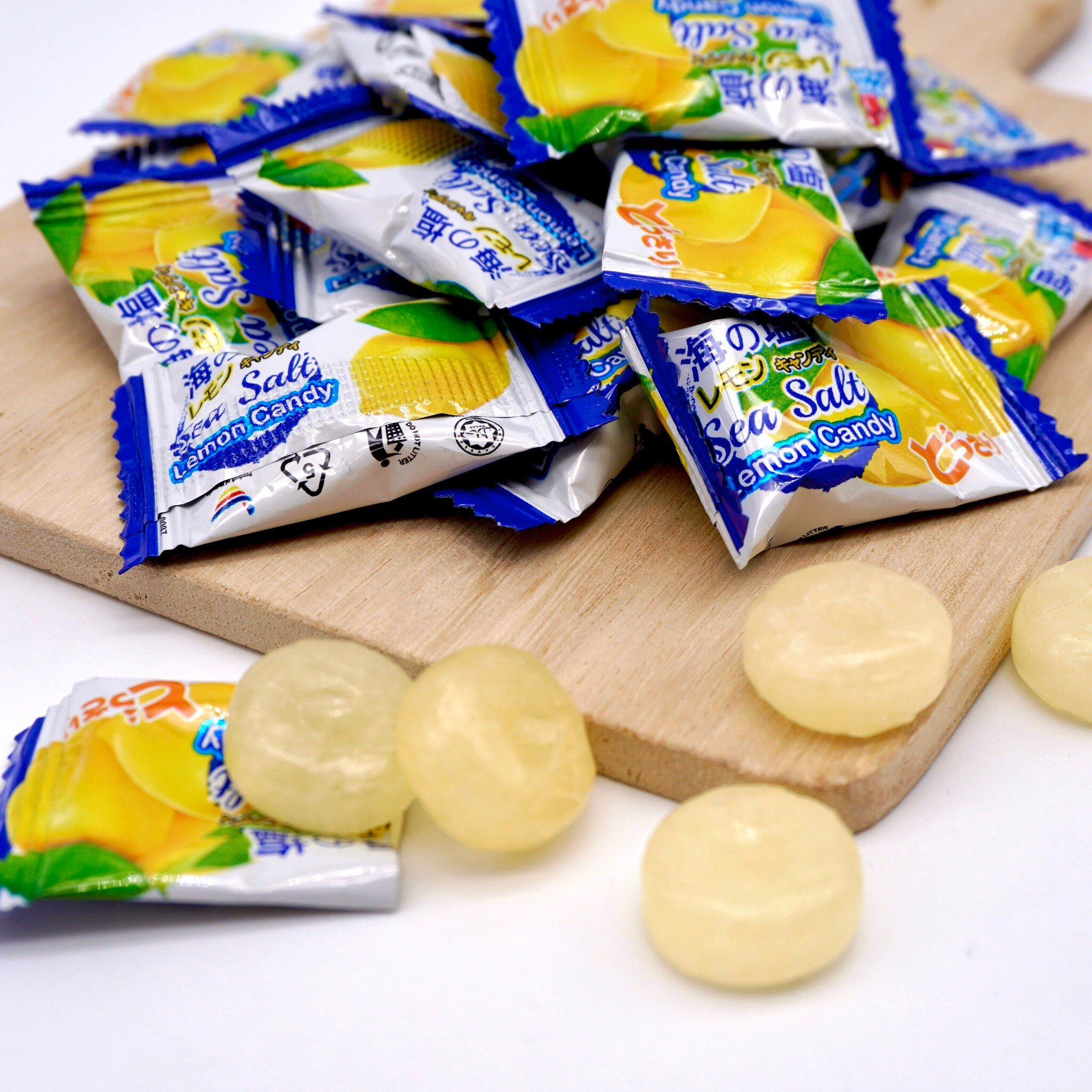 嘴甜甜 BF薄荷玫瑰鹽檸檬糖 200公克 糖果系列 BigFoot 檸檬糖 海鹽糖 玫瑰檸檬 岩鹽 大腳丫 檸檬鹽 素食 現貨