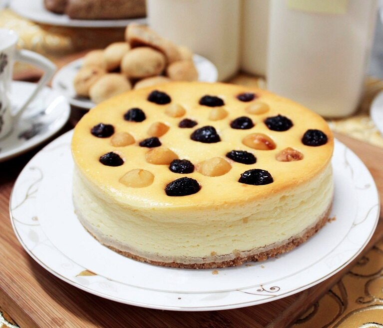 ~以琳家庭廚坊~5吋蔓越莓果仁乳酪蛋糕   滿2000 ,水餃另計