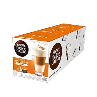雀巢 焦糖瑪奇朵咖啡膠囊 (三盒一組)【三井3C】