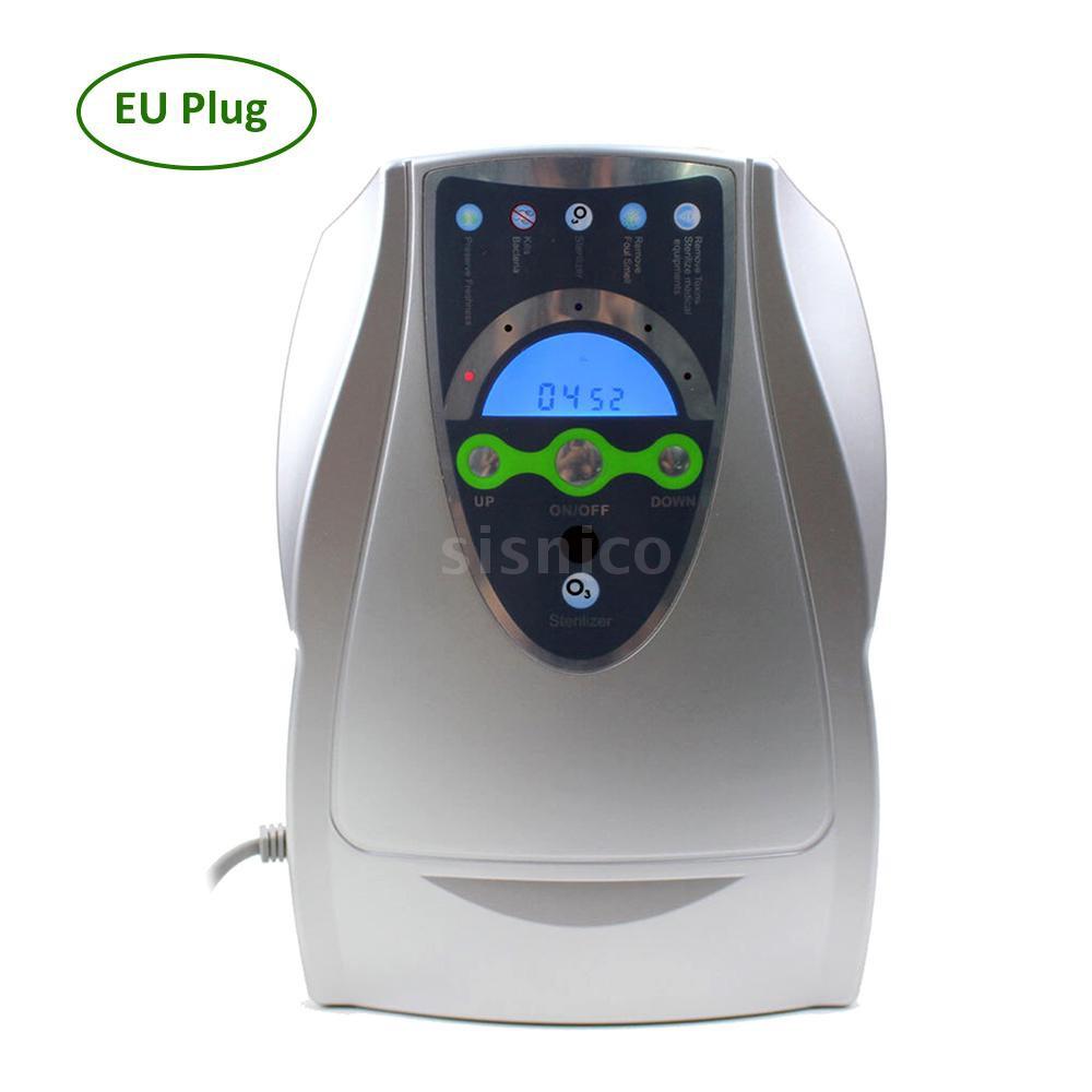 果蔬消毒臭氧滅菌器家用臭氧消毒機廚房小家電適用於水中和空氣中銀色歐規[Sis]