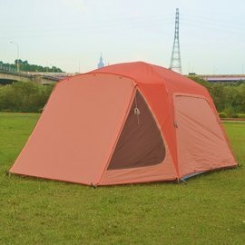 蘋果戶外用品專賣店:【【蘋果戶外】】好野Outthere馬卡龍馬卡龍6人帳全國唯一可換外套的帳篷