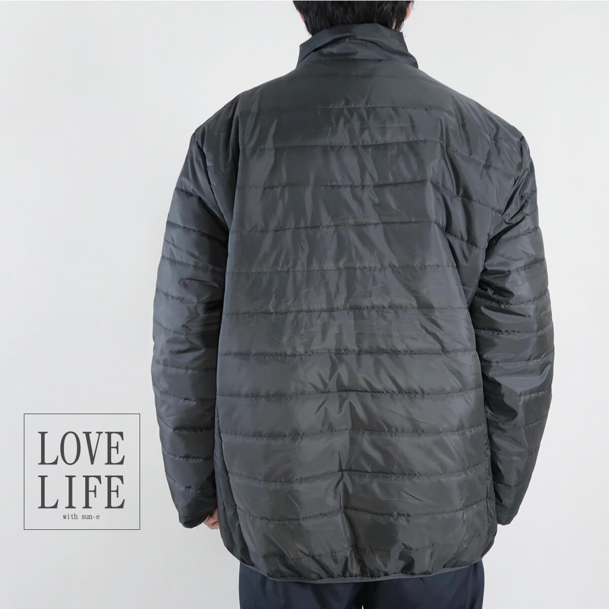 加大尺碼舖棉保暖外套 超輕量夾克外套 騎士外套 擋風外套 立領休閒外套 鋪棉外套 藍色外套 黑色外套 WARM PADDED JACKET (321-A831-08)深藍色、(321-A831-21)黑色、(321-A831-22)灰色 6L 7L 8L (胸圍58~62英吋) [實體店面保障] sun-e 9