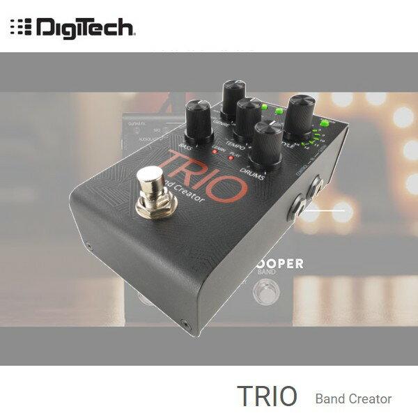 【非凡樂器】DIGITECH TRIO Band Creator自動伴奏效果器 / 選擇七種主要音樂風格 / 公司貨保固1年/贈導線