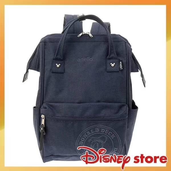 【限量款】後背包日系anello麻衣布迪士尼聯名背包書包