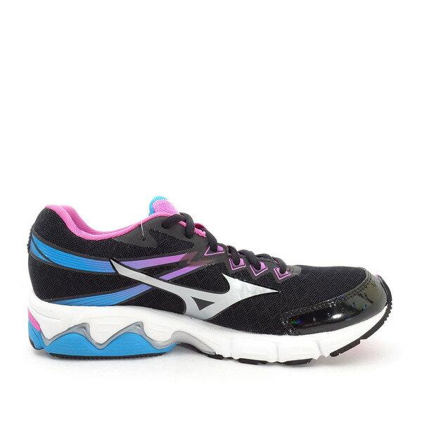 Mizuno Wave Connect W [J1GD154802] 女鞋 運動 走路 跑步 氣墊 避震 美津濃 黑 1