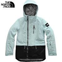 [ THE NORTH FACE ] 女 DryVent 滑雪兜帽外套 雪藍 / 公司貨 NF0A3M19FKB-川山岳海-運動休閒推薦