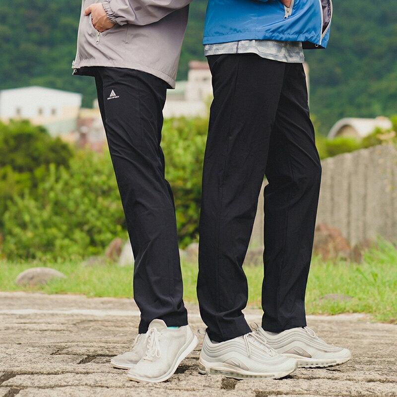 AREXSPORT 戶外休閒輕薄防水耐磨速乾修身運動衝鋒褲 防潑水材質 男女共版 加大尺碼 AS-7159 S-4L 3