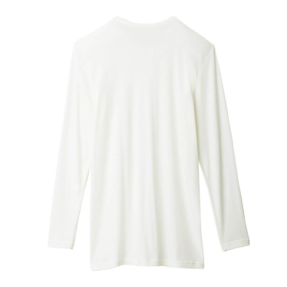 【Gunze郡是】熱魔力 男仕圓領輕薄發熱衣長袖 4