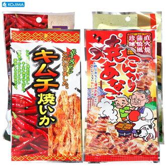 小島 海膽鹿角魚絲/泡菜烤墨魚/泡菜干貝唇/蒲燒糯鰻片 1包入