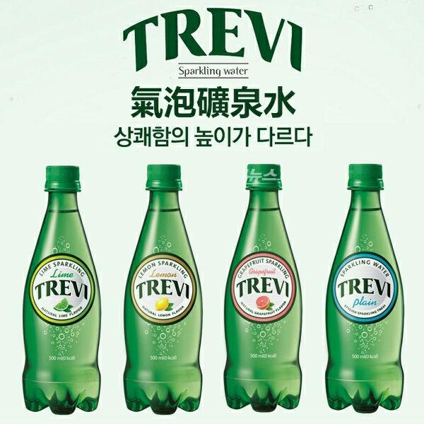 韓國 TREVI 氣泡礦泉水 500ml