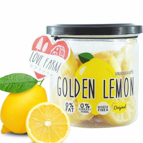 泰國 LOVE FARM就是愛檸檬/檸檬乾原味檸檬/辣味罐裝 120g