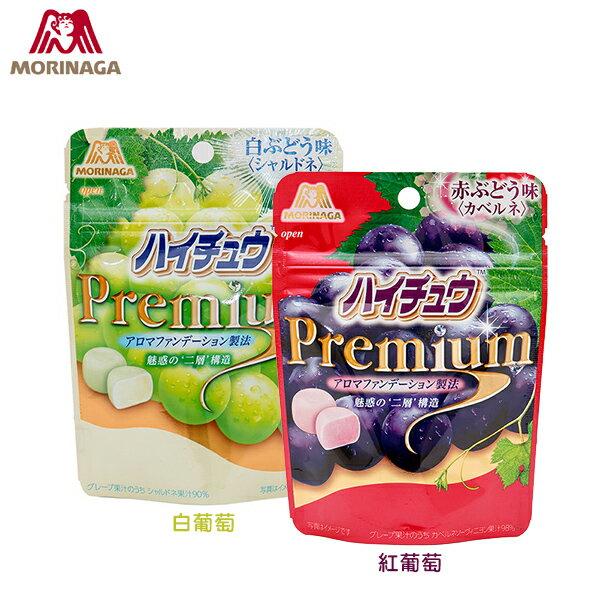 日本進口 MORINAGA 嗨啾葡萄嚼糖 35g