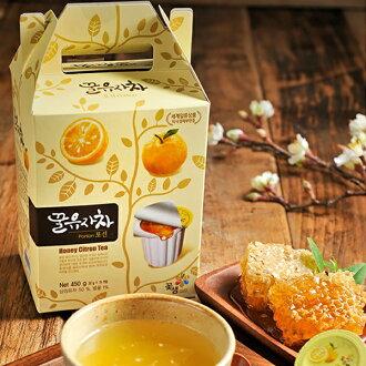 韓國 柚子/生薑/檸檬/葡萄柚茶球禮盒 30gx15入