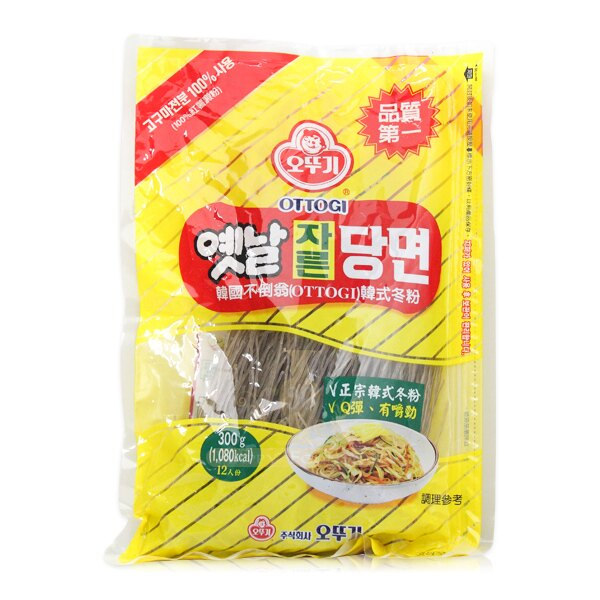 韓國 OTTOGI 不倒翁韓式冬粉/乾拌冬粉 300g