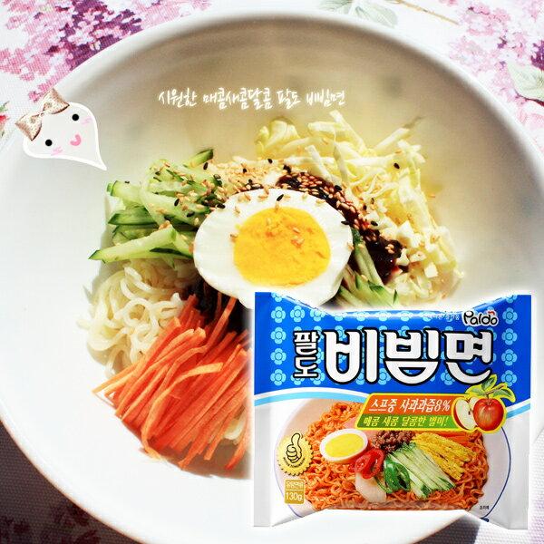 韓國 Paldo 夏日涼麵/冷拌(辣)麵 單包入