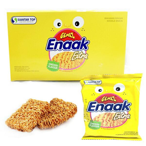 幸福泉平價美妝:韓國Enaak重量包大雞脆點心麵30g*24包