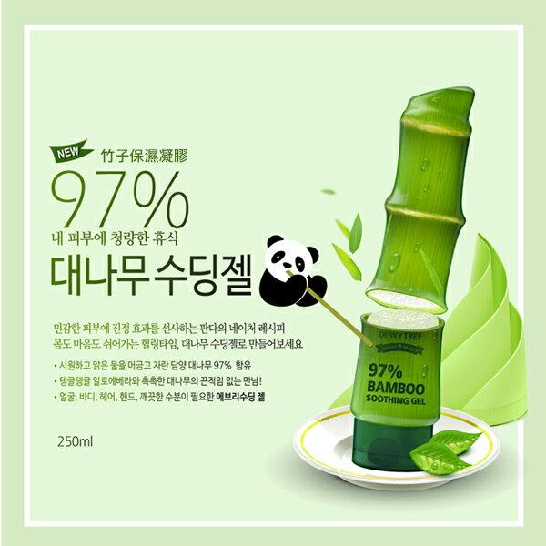 韓國 DEWYTREE 97^%竹子保濕凝膠 250g