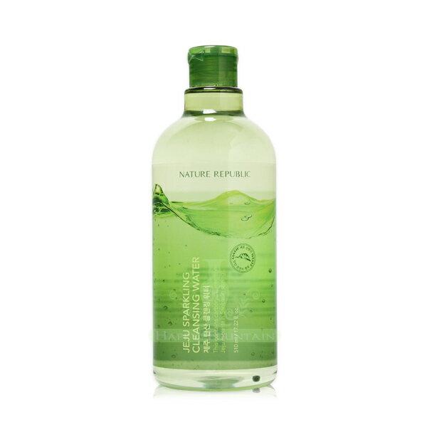 Nature Republic 濟州島碳酸H2O卸妝水