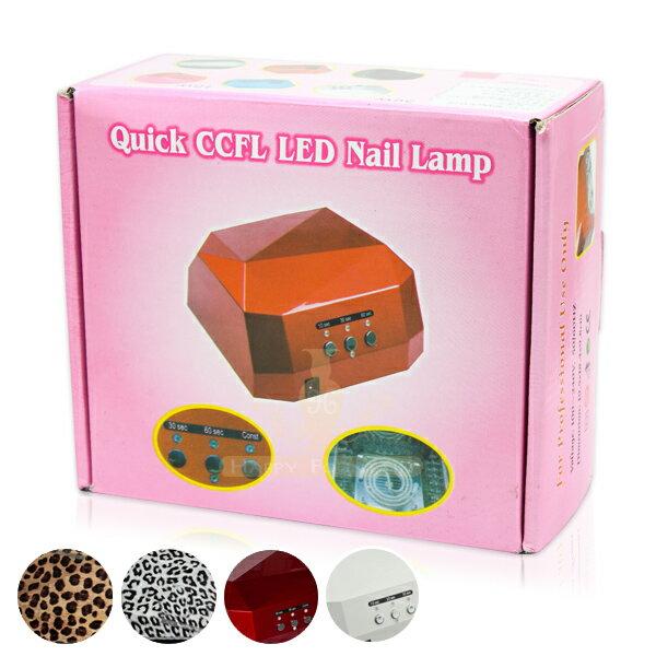 感應式36w 鑽石 光療機光療燈光療膠用LED  CCFL燈