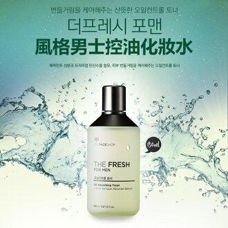 The Face Shop 風格男士控油化妝水 150ml