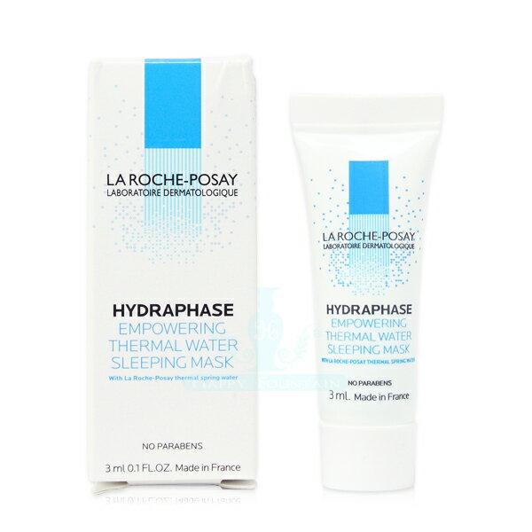【公司貨】理膚寶水 LA ROCHE-POSAY 水感超保濕晚安凝膜 3ml