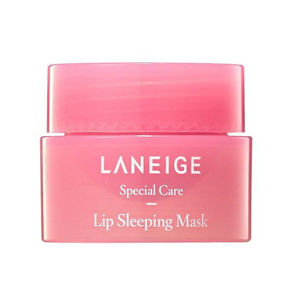 蘭芝 LANEIGE 睡美人極萃滋養晚安唇膜 隨身瓶 3g