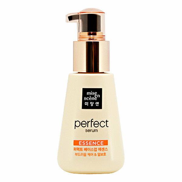 幸福泉平價美妝:韓國Miseenscene完美基底髮根營養護髮油(金色)100ml