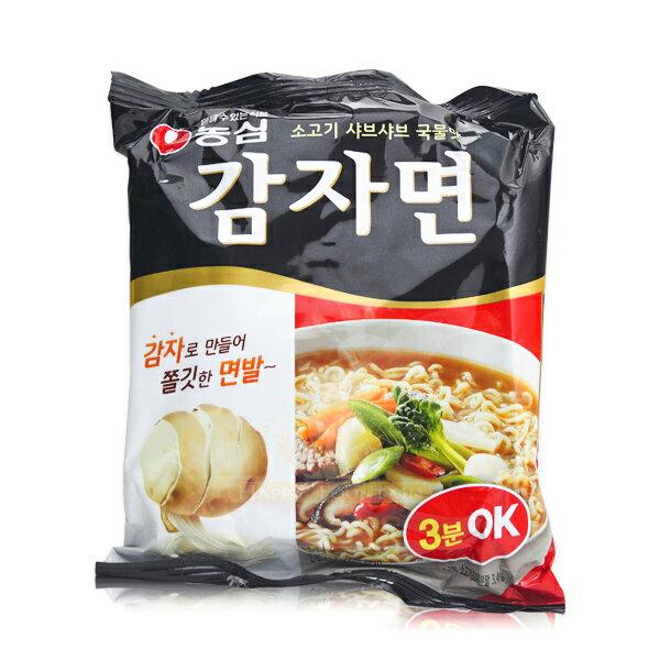 韓國原裝進口 農心馬鈴薯麵 正宗韓國內銷品