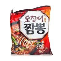 異國泡麵大賞推薦韓國泡麵 農心魷魚風味炒瑪麵(湯麵) 124g