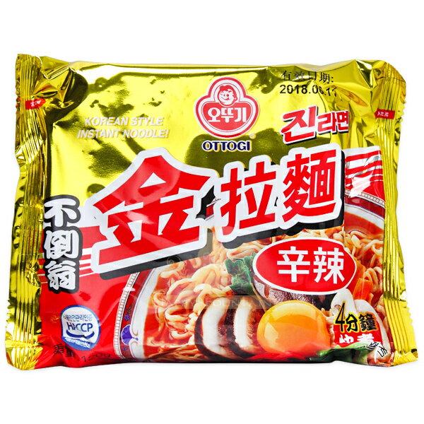 OTTOGI 不倒翁 芝麻風味金拉麵(辛辣) 120g