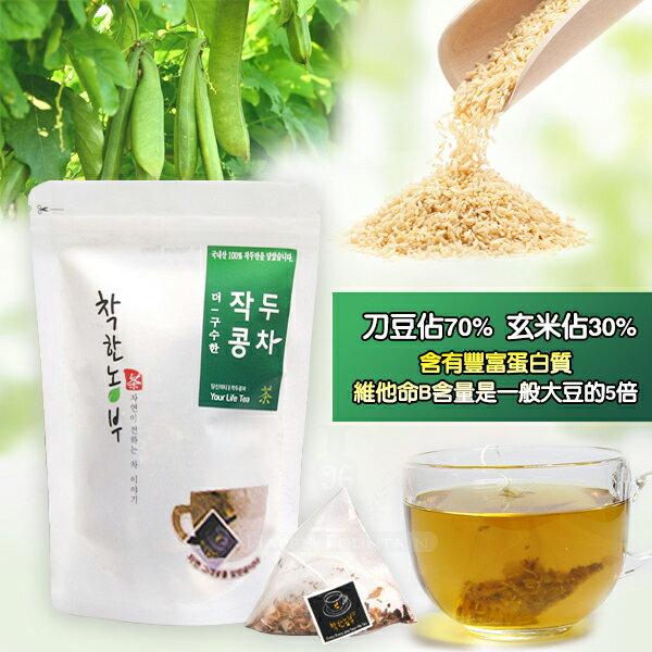 <br/><br/>  韓國 刀豆玄米茶 15入/1袋<br/><br/>