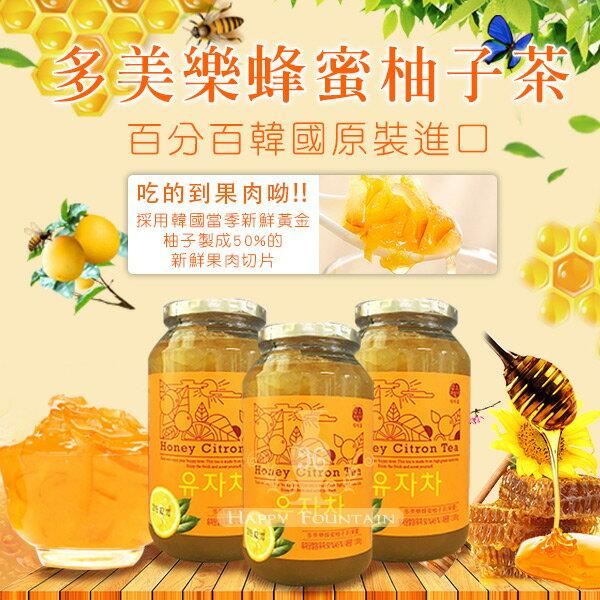 韓國進口多美樂蜂蜜柚子茶1000g(※限宅配出貨※)