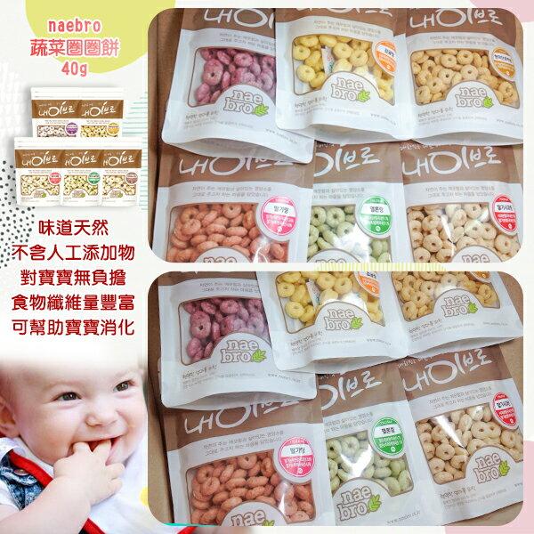 韓國naebro蔬菜圈圈餅(包)