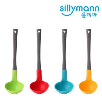 韓國 Sillymann 矽膠廚具大湯勺 1入
