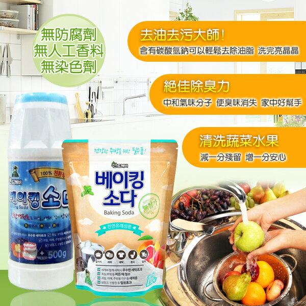 幸福泉平價美妝:韓國小鬼怪魔法萬用蘇打清潔粉1.2Kg(補充包)