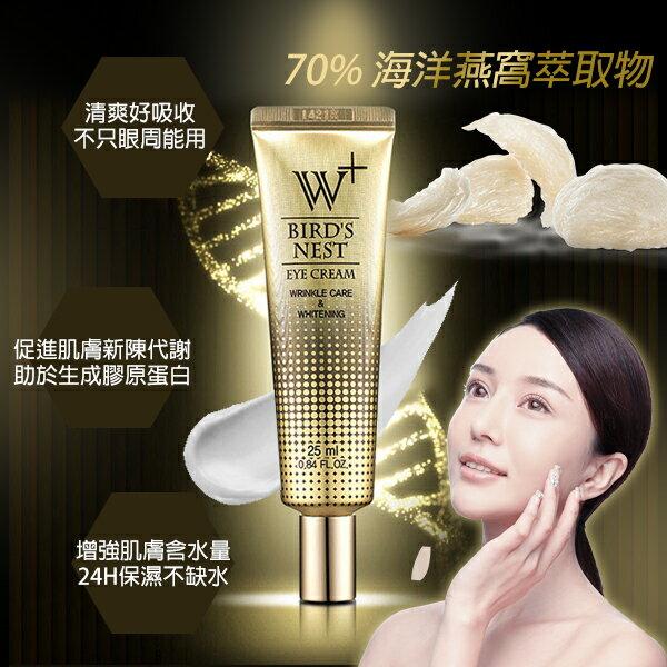 幸福泉平價美妝:韓國SNP海洋燕窩W+眼霜25ml
