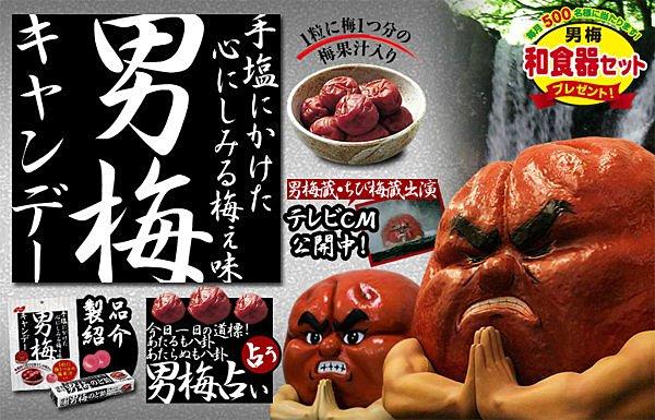 日本進口 諾貝爾男梅糖條
