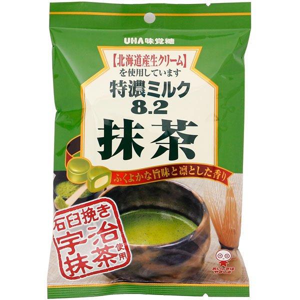 日本進口 味覺特濃抹茶牛奶糖 84g