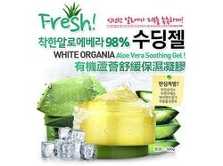 韓國 Organia 98%有機蘆薈舒緩保濕凝膠 300g