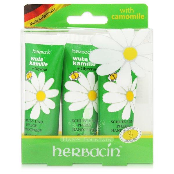德國小甘菊 herbacin 1號護手霜3件組(20ml*3入)