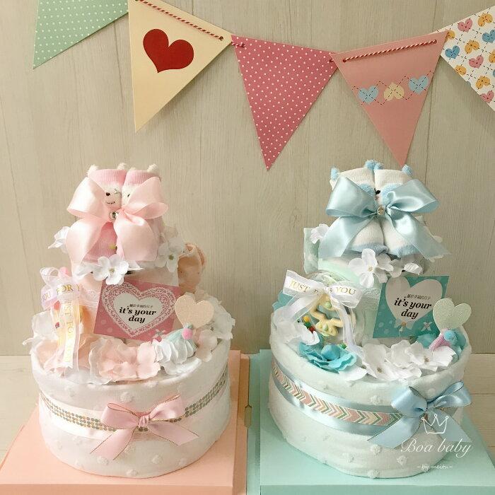 新生兒禮物首推:韓系經典款尿布蛋糕