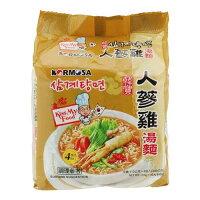 韓國泡麵推薦到KORMOSA人蔘雞湯麵110g*4入【愛買】就在愛買線上購物推薦韓國泡麵
