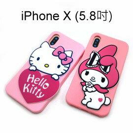 三麗鷗鏡子系列保護殼iPhoneX(5.8吋)化粧鏡HelloKitty美樂蒂【三麗鷗正版】