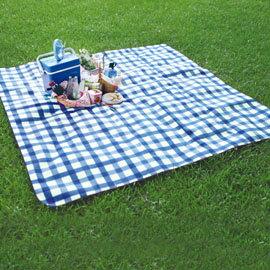 豪華防水野餐墊|高級植絨鋁膜睡墊(300x300cm)P15727|
