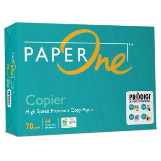 【PAPER ONE】70P A4 影印紙/多功能紙 (1箱5包)