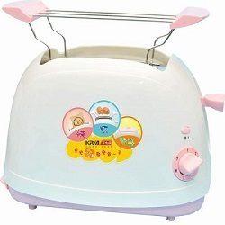 免運費 KRIA可利亞 烘烤二用笑臉麵包機 KR-8001(粉色)