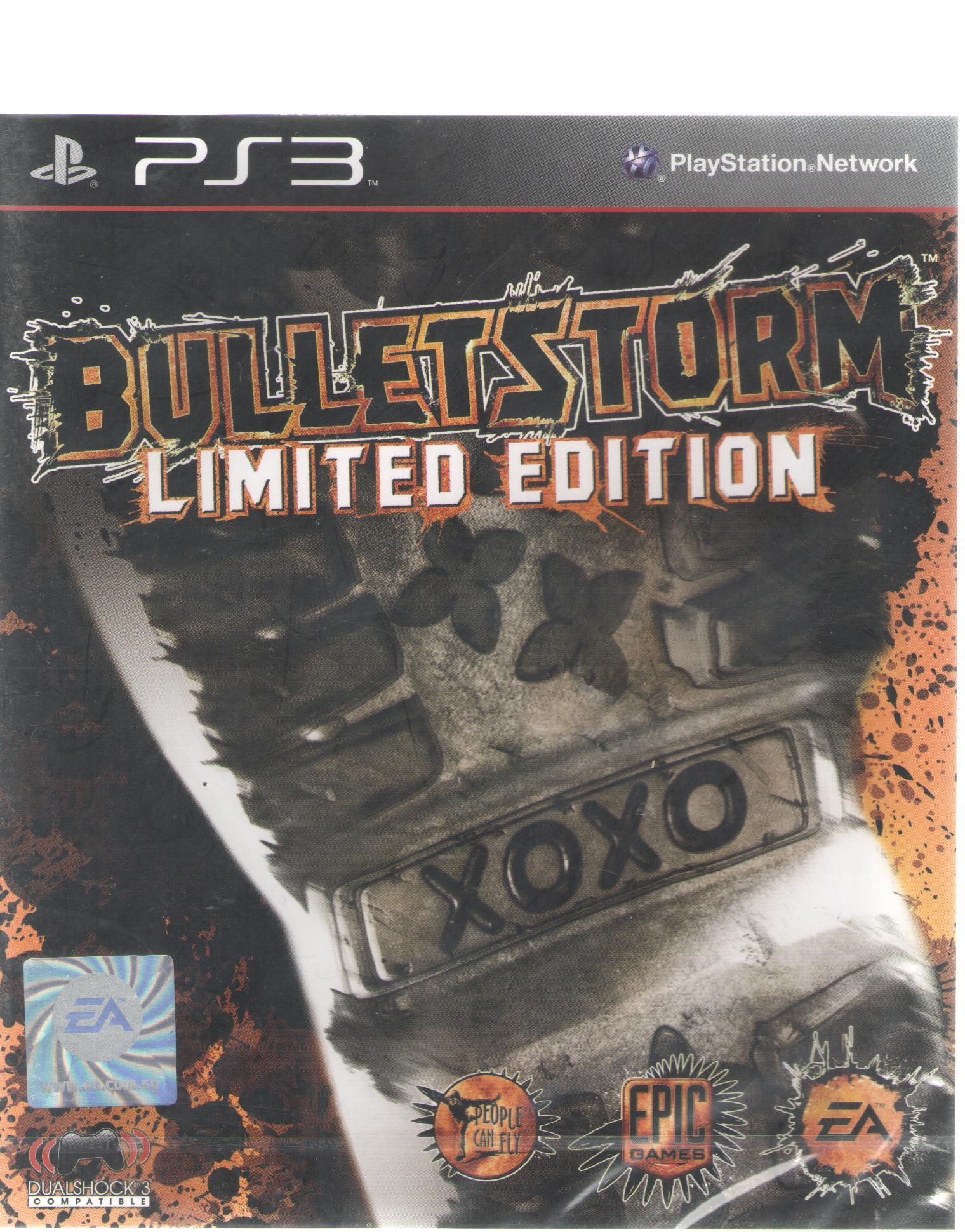 現貨供應中 亞洲英文版 [限制級] PS3 狂彈風暴