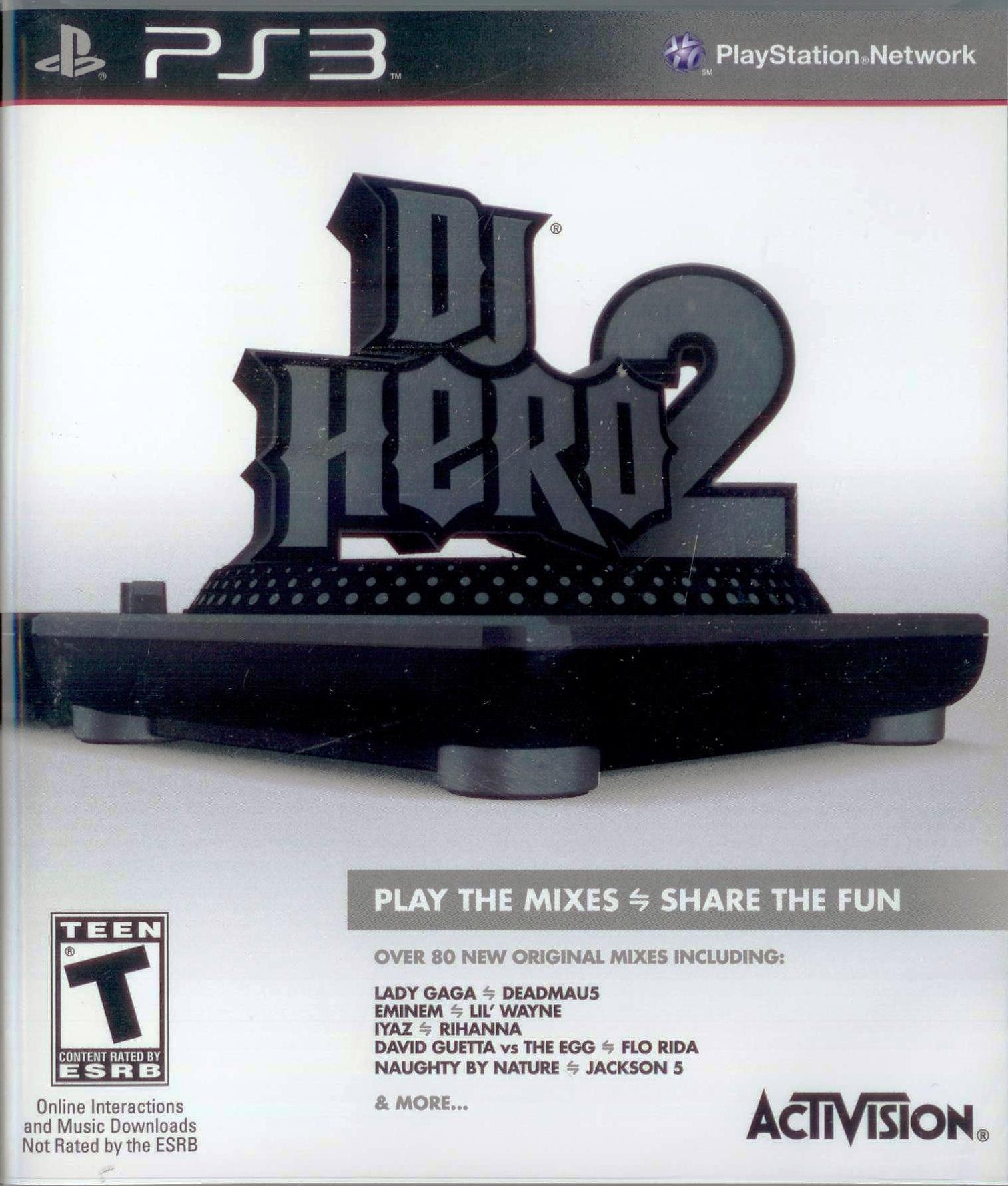 [輔導級] PS3 DJ 英雄 2 亞洲英文版