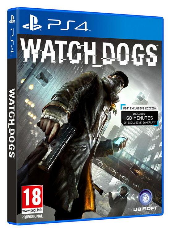 亞洲中文版   [限制級] PS4 看門狗/Watch Dogs