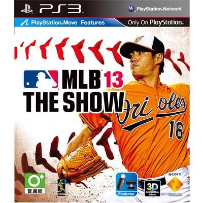 [普通級] PS3 MLB 13 The Show/美國職棒大聯盟 13  亞洲英文版